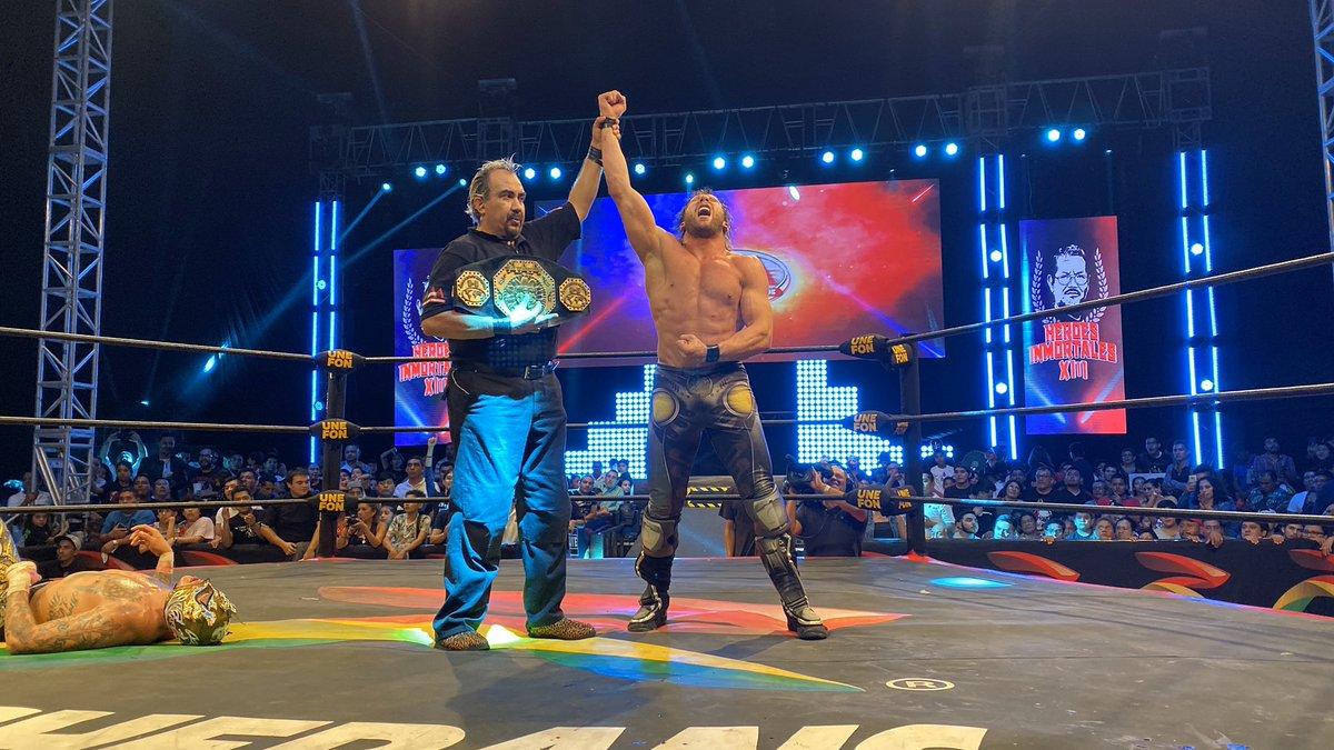 Kenny Omega Wins Title At AAA Heroes Inmortales XIII