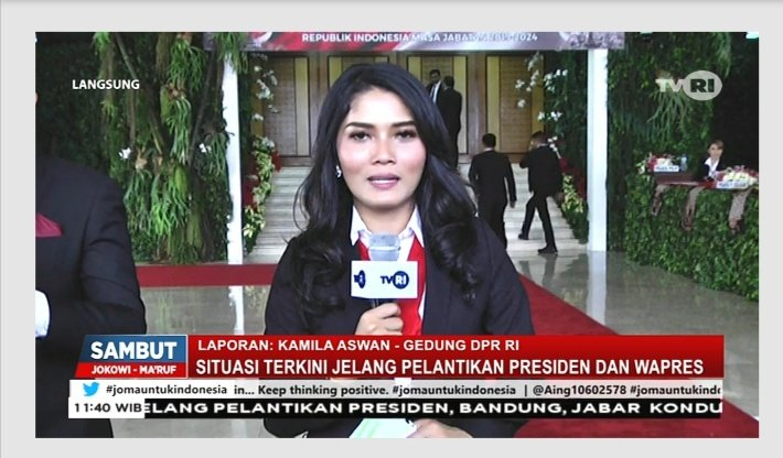 Situasi terkini jelang pelantikan Presiden dan Wapres RI #jomauntukindonesia https://t.co/s85USAezdI