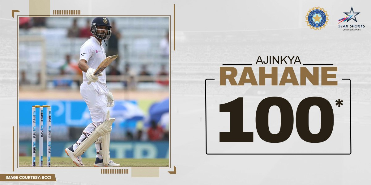 The counter 'jinx' that disarmed the Proteas! 😍@ajinkyarahane88 brings up a fine century and looks set for more! Keep watching:🏏:  3rd Test, Paytm Freedom Trophy #INDvSA⌚ : NOW📺: Star Sports & Hotstar