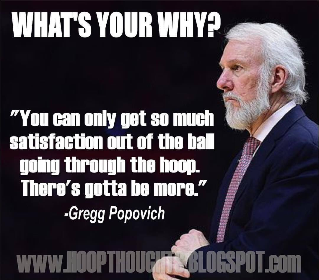 What's your why? @CoachDonMeyer would say that your program has to stand for me that just wins and losses.