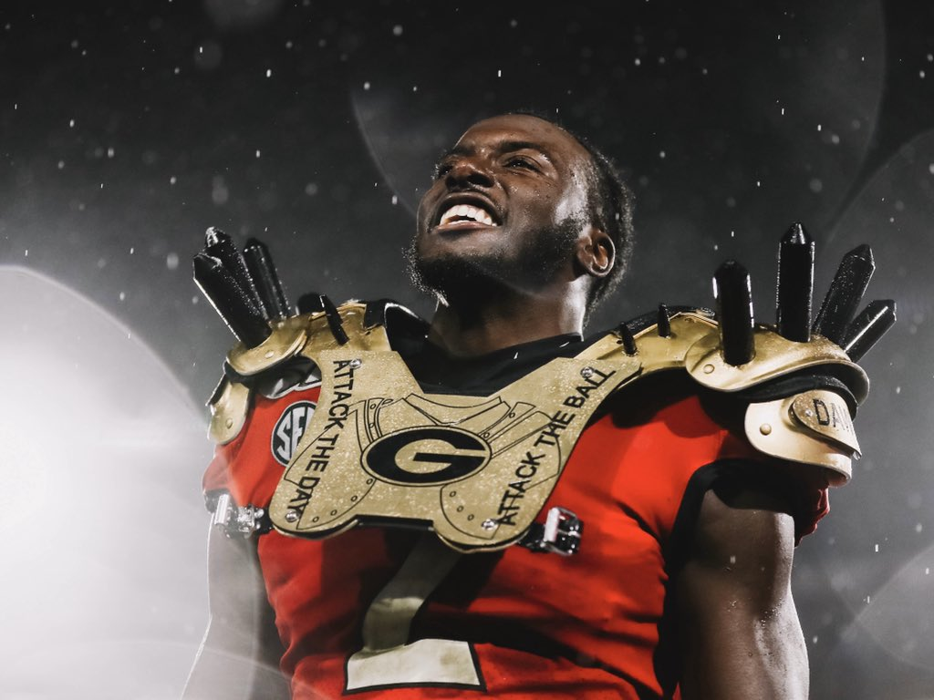 Georgia Star RB Has Message For Fans Who Booed
