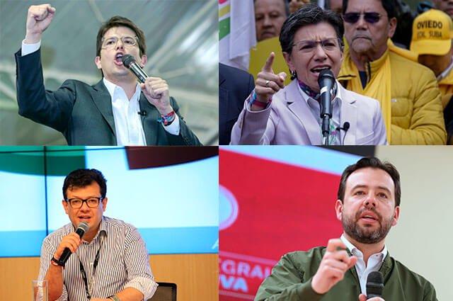 Candidatos a la Alcaldía de #Bogotá conquistan votantes en el último fin de semana de campaña >>> https://buff.ly/2BsNdPQ #ColombiaDecide