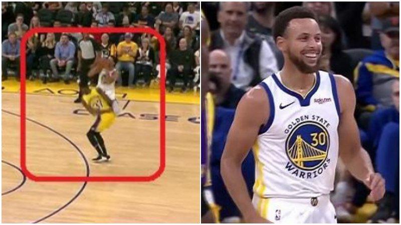 【影片】太狡猾了!Curry欺負完字母弟後壞笑,球迷:他哥哥會「報仇」的!