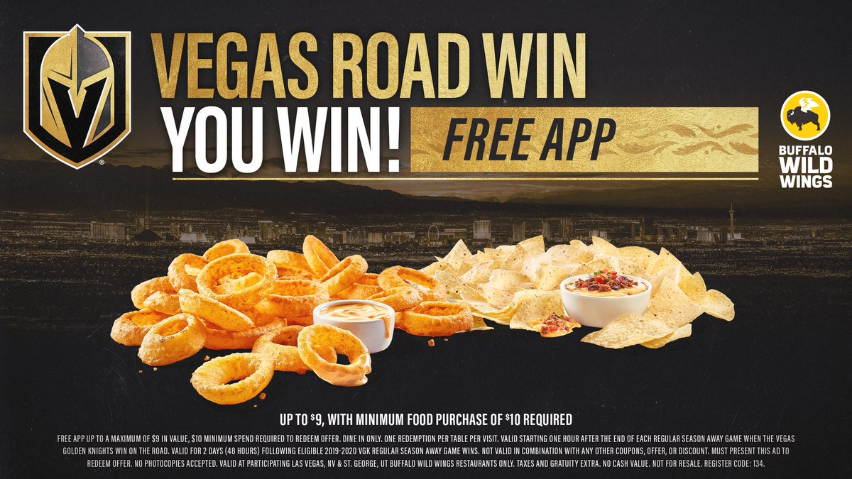 Vegas Golden Knights @GoldenKnights
