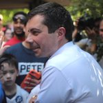 Image for the Tweet beginning: Mayor Pete's Presidential campaign rhymes