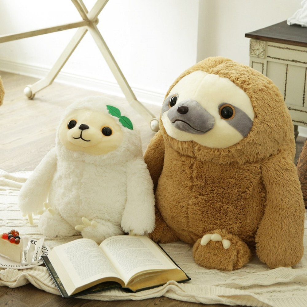 #brothers #related Cute Sloth Plush Toys https://kidsclusiveshop.com/cute-sloth-plush-toys/…