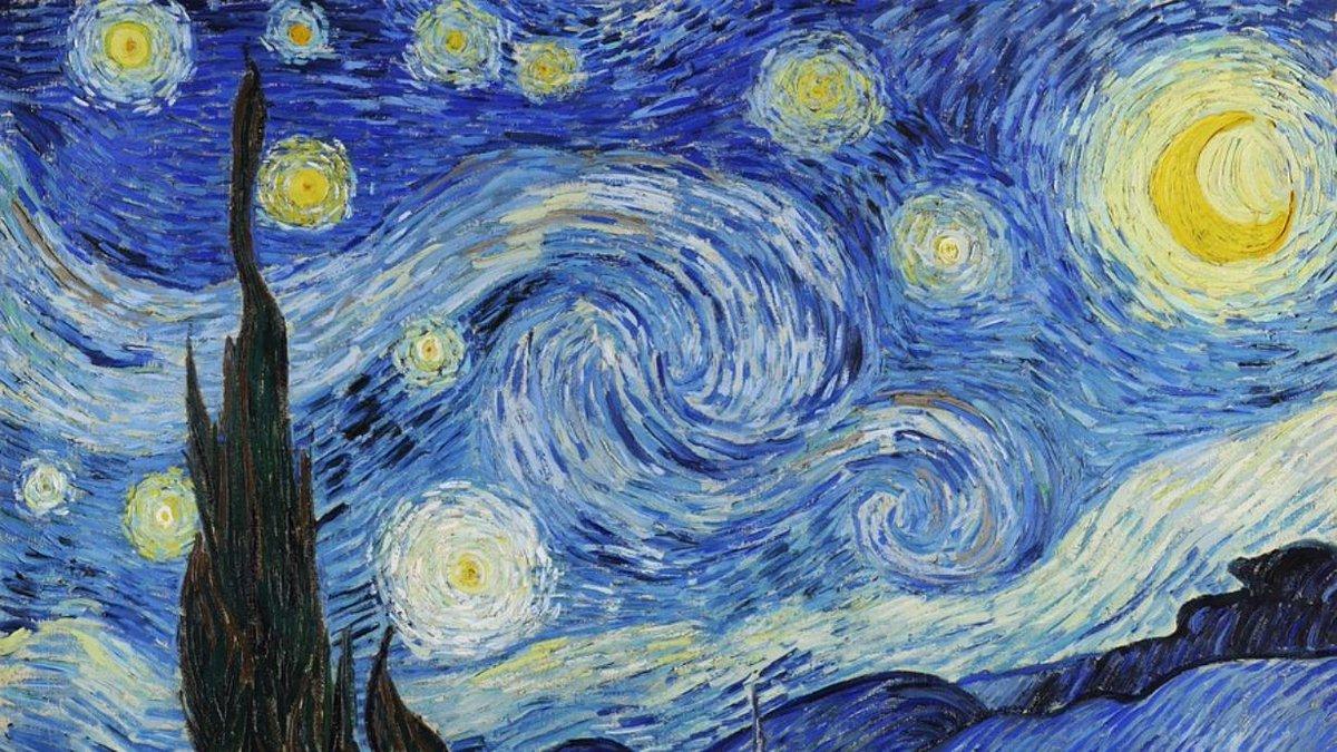 """¿""""La Noche Estrellada"""" de van Gogh representa la anatomía del cerebro? http://eluni.mx/_ycn0vrogg"""