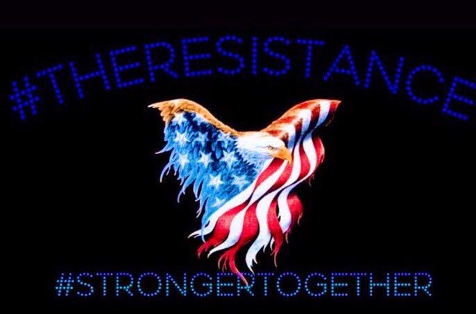 @WMN4SRVL @AviFlyGirl I consider this a win for the Resistance! Tens of thousands of people saw...hundreds retweeted...Trump & @SpeakerPelosi each got a copy every single time!! Who says we can't accomplish things if we work together! Like the Lady said: We ARE #StrongerTogether!!