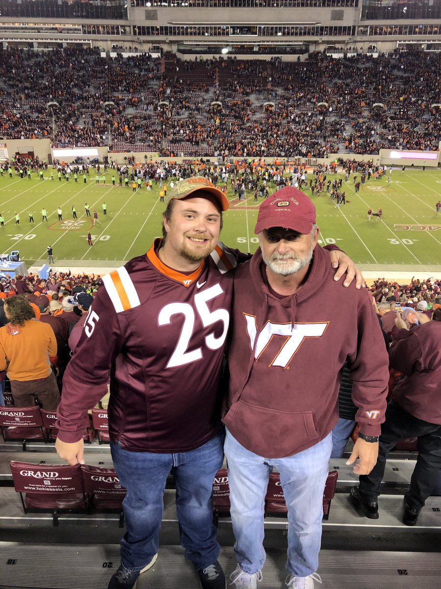 Dad and I have watched a lot of football together. However, I believe tonight's 6 overtime win over UNC has to be at the top of the list for us. What a game. What a memory. Love you, @johnhess58<br>http://pic.twitter.com/G5Yol5qK7l