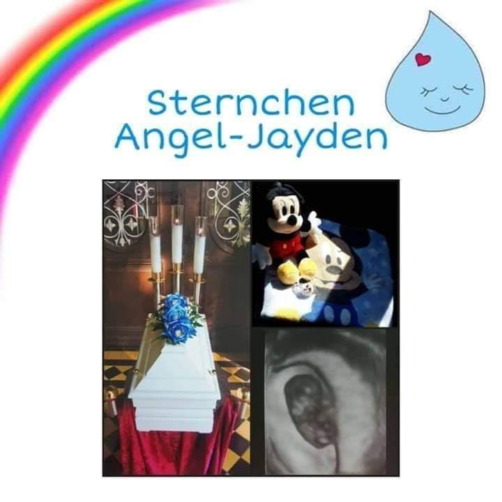 Ich bin selber Sternenmama. Mein Sohn heißt Angel-Jayden. Er war/ist unser Wunschkind. Es hat recht schnell mit dem Schwangerwerden geklappt. Da kam die erste Schocknachricht: Verdacht auf Gebärmutterhalskrebs...  Weiterlesen: https://m.facebook.com/sternchenundfruehchen/photos/a.227617287687310/751808105268223/?type=3&source=57…  #Sternenkind #Sternenelternpic.twitter.com/628W4wurST