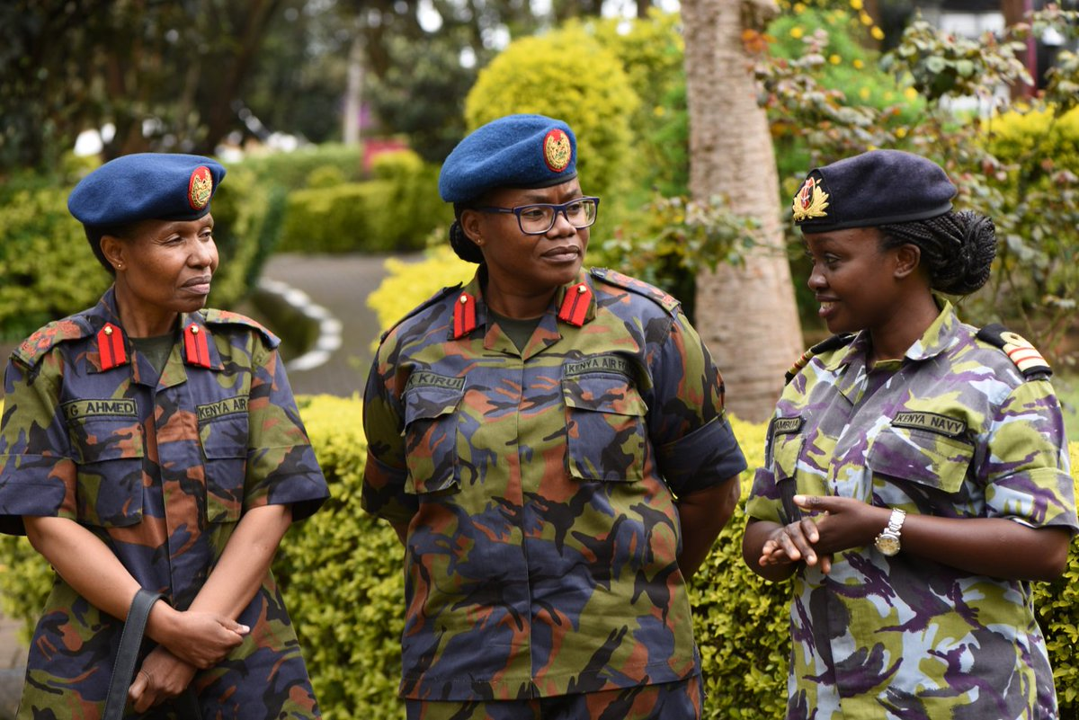 Congratulations to Kenya Navy and KDF who seems to have achieved the two thirds rule gender rule @kdfinfo #MashujaaDay2019