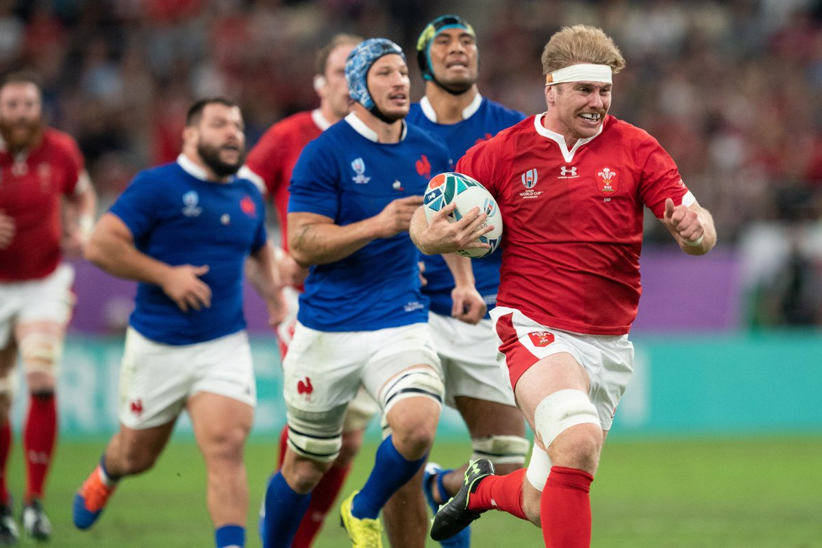Wales came back with a vengeance against France in the second-half to win 20-19. Playing against 14 men always helps. The Welsh will face either Japan or South Africa in #RWC2019 semi-finals next Sunday. #WALvFRA