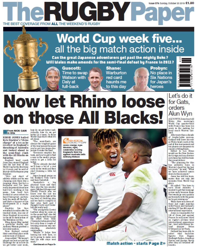 OUT NOW!  Buy it at your local supermarket or newsagent #ENGvAUS #WALvFRA<br>http://pic.twitter.com/BbknyCmGQt