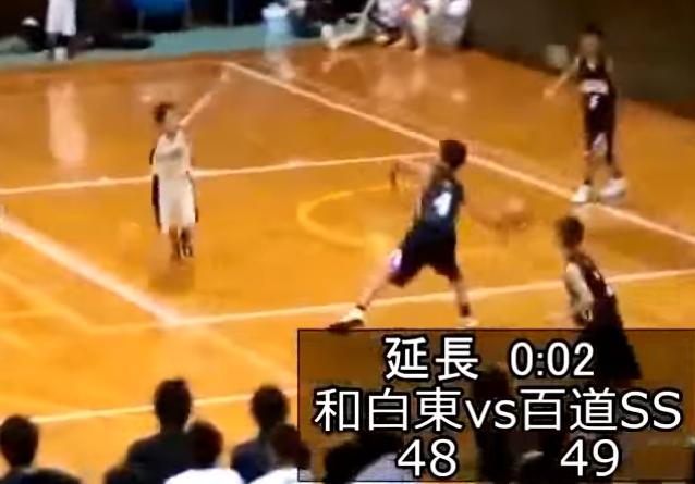 【影片】絕殺到反絕殺!日本小學生最後兩秒一個史詩級的絕殺,對手都懵了!