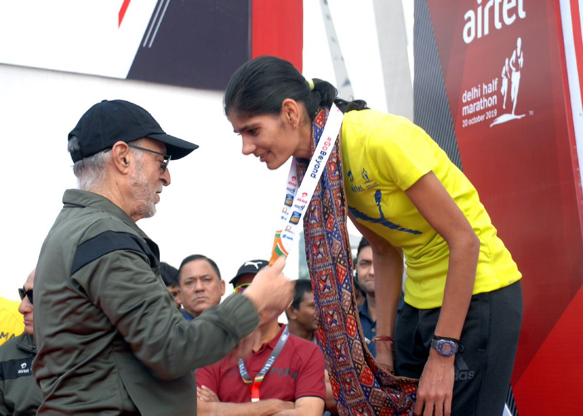 Such events motivate, inspire & promote good health, well being & fitness. I congratulate all participants & winners!#ADHM2019#fitindia