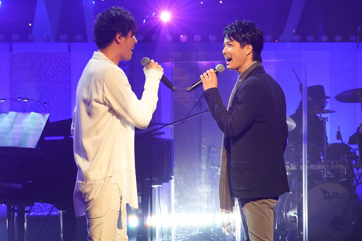 グリブラ 第31話歌コーナーは 田代万里生 さんと 平方元基 さんが新作 ミュージカル 『ストーリー