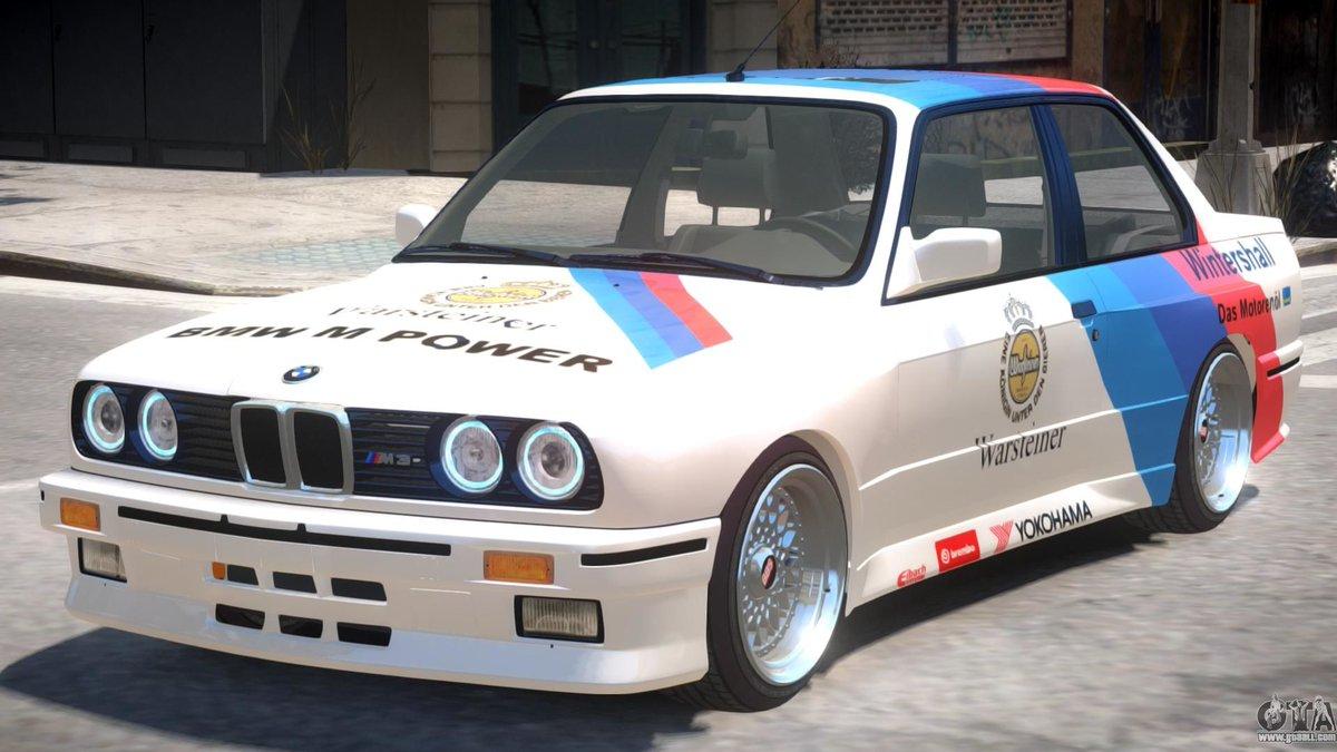 Gtaallcom On Twitter Bmw M3 E30 Motorsport For Gta 4 Https T Co Kanldcczwn