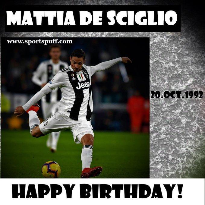 Happy 28th birthday, Mattia De Sciglio-Juventus (Right-Back)...www.sportspuff.com...