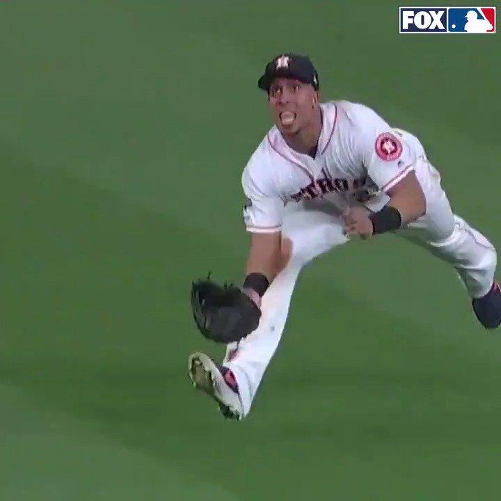 The @astros defense was just unreal last night:
