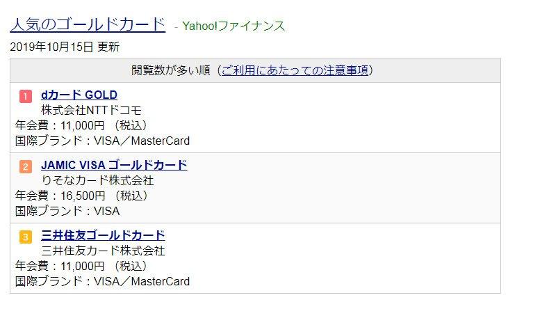 ヤフーの検索結果(「クレジットカード」)ウサギだけど、いつから、こんなの出るようになったウサギ?添付はPCだけど、スマホでも表示されたウサギ。ヤフーもいよいよ、何でもアリになってきたウサギ。。