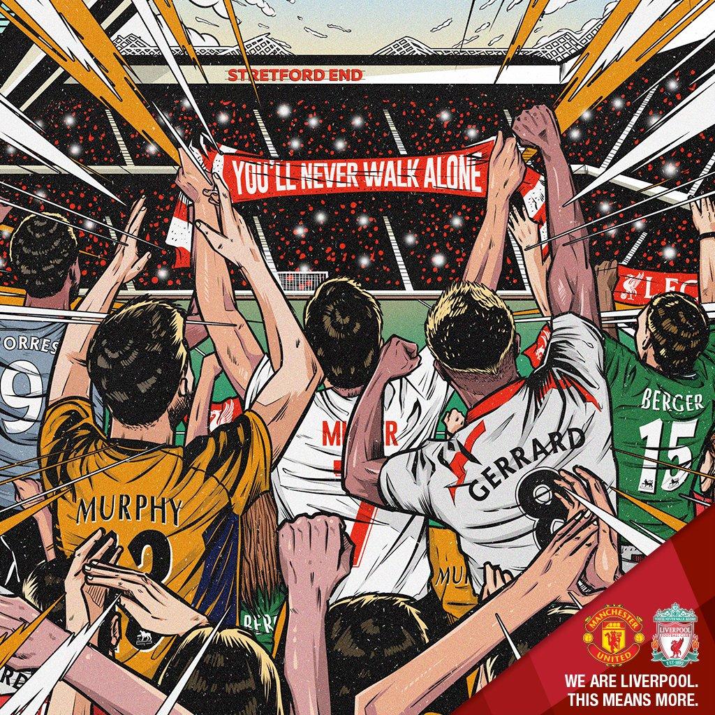 🔴🔴 M A T C H D A Y 🔴🔴Next chapter in the rivalry. Old Trafford awaits! 👊#ThisMeansMore #MUNLIV