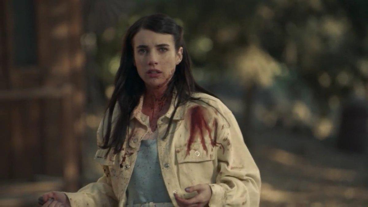 Okkkkkkk, Brooke got played by Margaret after this last murder😢 american tragic story😆 I can't believe it😂#AHS #AmericanHorrorStory  #AHS1984