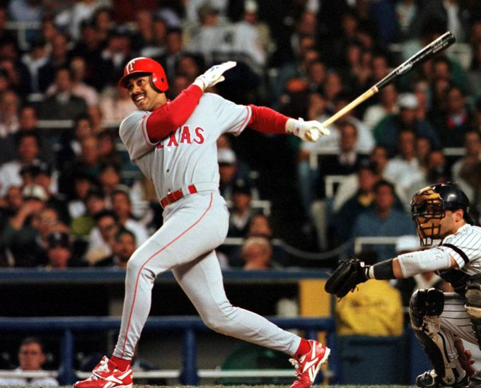 Happy birthday to Juan Gonzalez, who won 2 AL MVPs and nobody seems to remember that