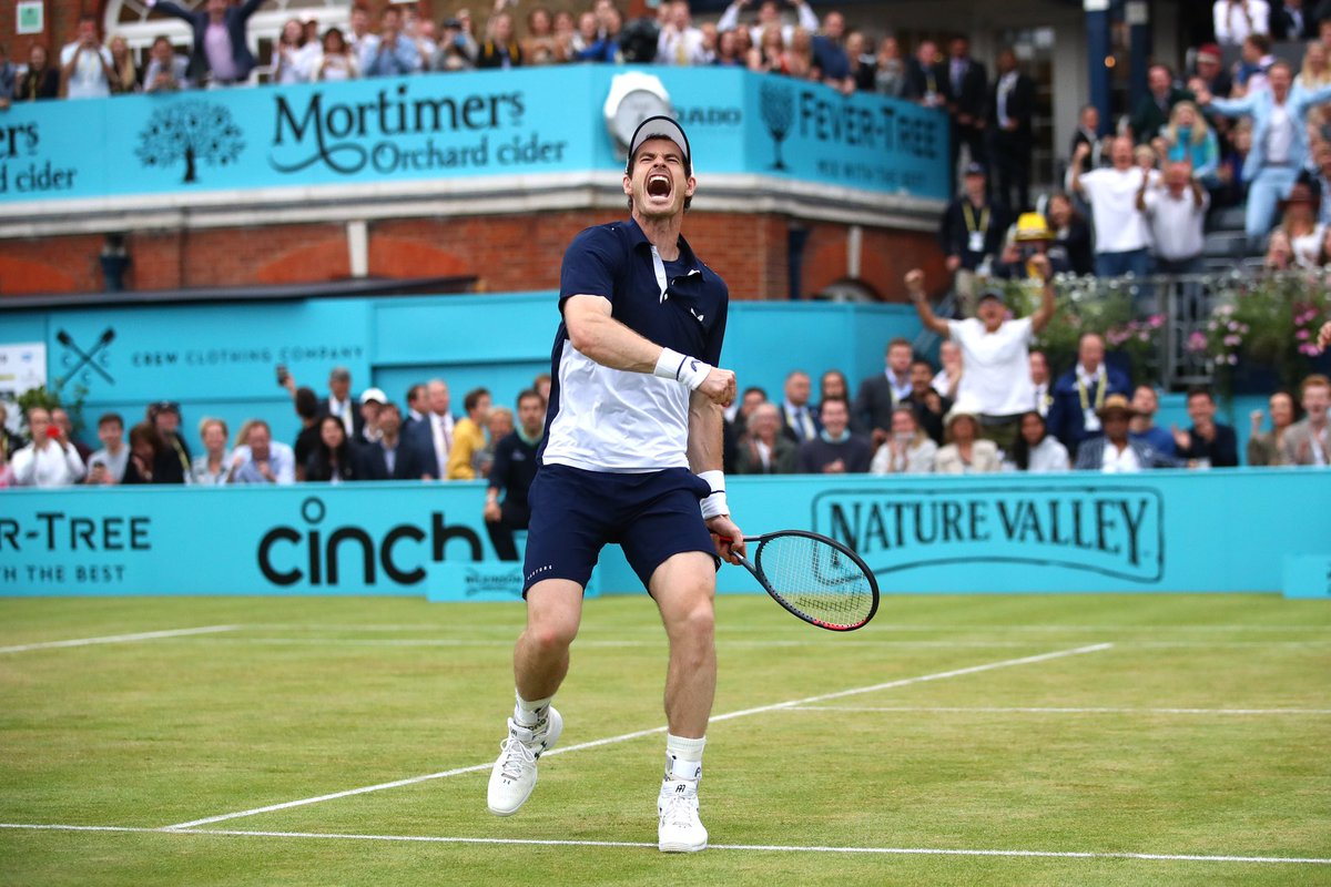 Back where he belongs.   Our 5-time singles, and reigning doubles champion Andy Murray, in the Antwerp final today.<br>http://pic.twitter.com/ly1kzstxeF