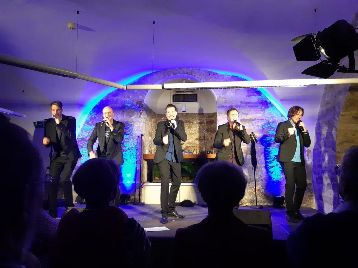 Danke für das Konzert im Gewölbekeller in Hofgeismar. #acappella #kasselpic.twitter.com/Cmg8LKkS80
