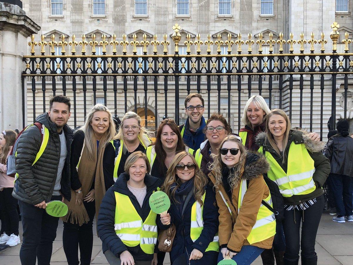 Had a fantastic 3 days in London. #TeamWesty #London #BuckinghamPalace #SchoolTrip