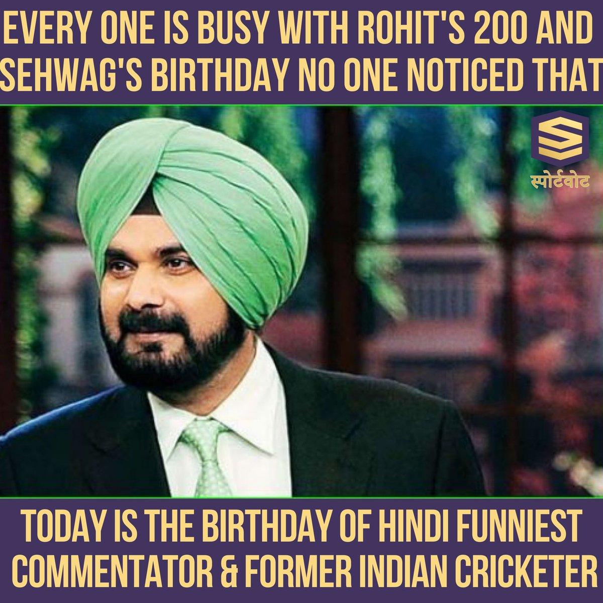 Happy Birthday @sherryontopp #navjotsinghsidhu #INDvSA #IndianArmy #virendersehwag #cricket #viratkohli #rohitsharma #sachintendulkar #yuvrajsingh #msdhoni #sachin #sportsjazba  #msd #sureshraina #indiancricket #zaheerkhan #england #teamindia #bleedblue
