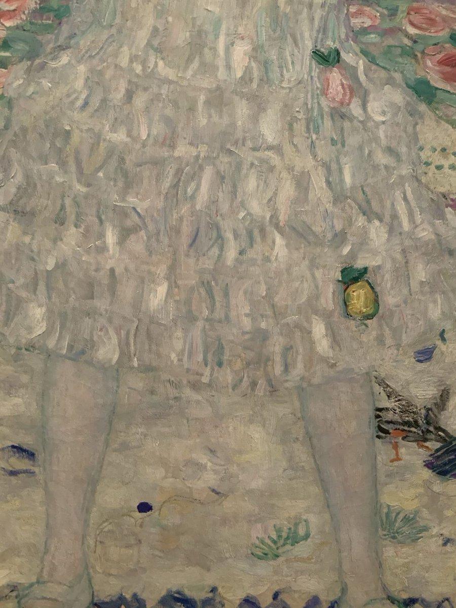 Gustav Klimt detail @metmuseum