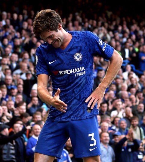 Marcos Alonso: 'Newcastle played very compact and it's not easy to find spaces to attack or create chances but I think we played well in the second half. We were so intense and finally got the goal and the three points' #CFC