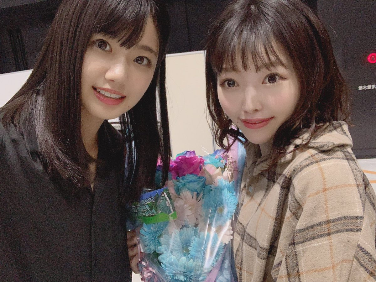 AKB48 『 サステナブル 』握手会in AichiSkyExpoありがとうございました 🤝かほたるの卒業セレモニー今日だと思わなくてびっくりした 🥺実感なさすぎ 🥺お花きれい 🥺#握手会 #森香穂