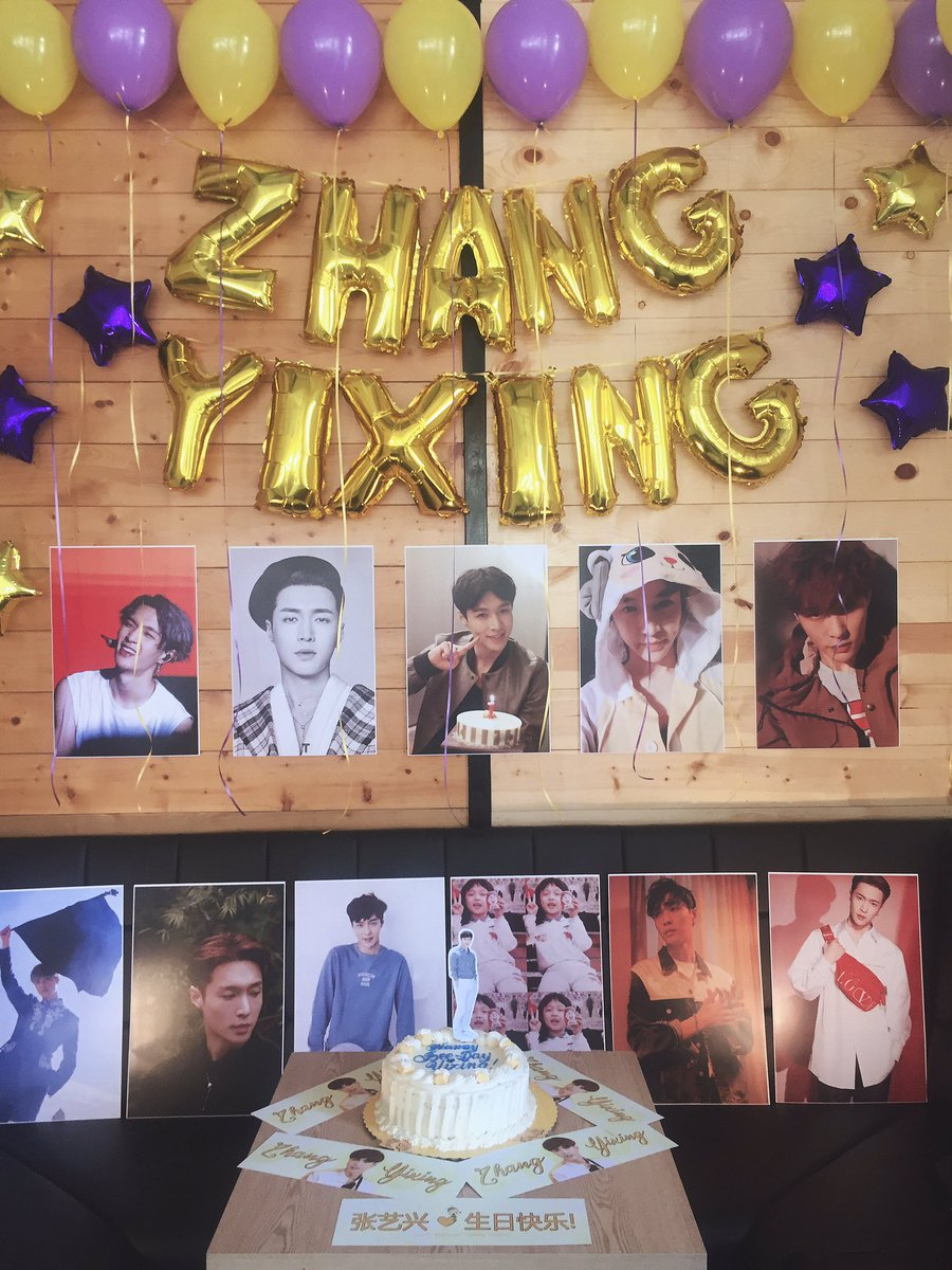 It's never too late to celebrate your special day @layzhang Happy Bee Day to our dearest Honeybee Lay!  Thank you @LuckyOneCebu for organizing this event. #HappyLayDay #LAY #OneSweetDayWithLay #WouldYouBeMyHoney  @weareoneEXO @LayXingPHpic.twitter.com/jPwQw7PArx