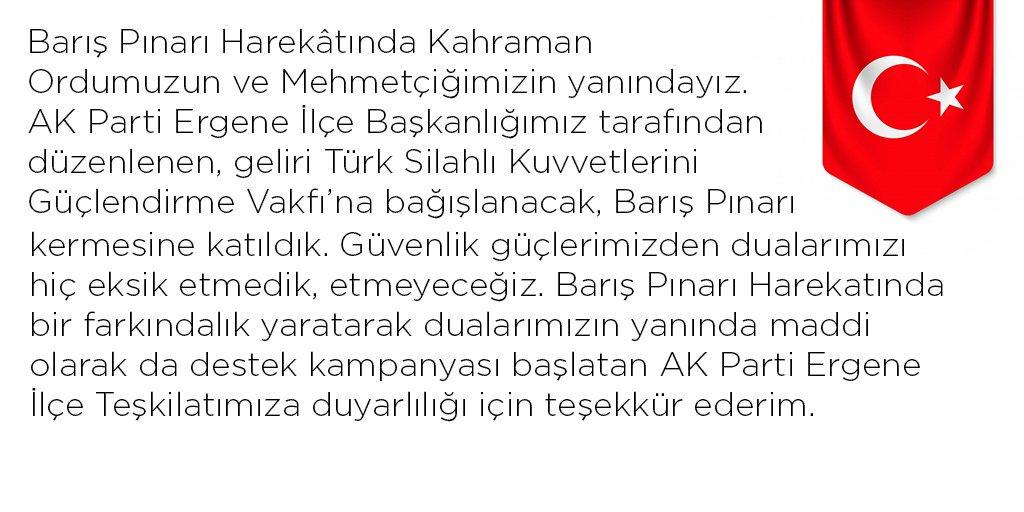 RT @mestanozcan: #BarışPınarıHarekatı #BarışPınarı https://t.co/XJHW4gwkG8