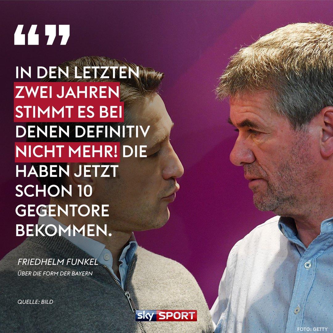 Friedhelm hat letzte Saison schon @JB17Official attackiert. Keine korrekte Art. #Funkel #FCBayern #Kovac #FCAFCB