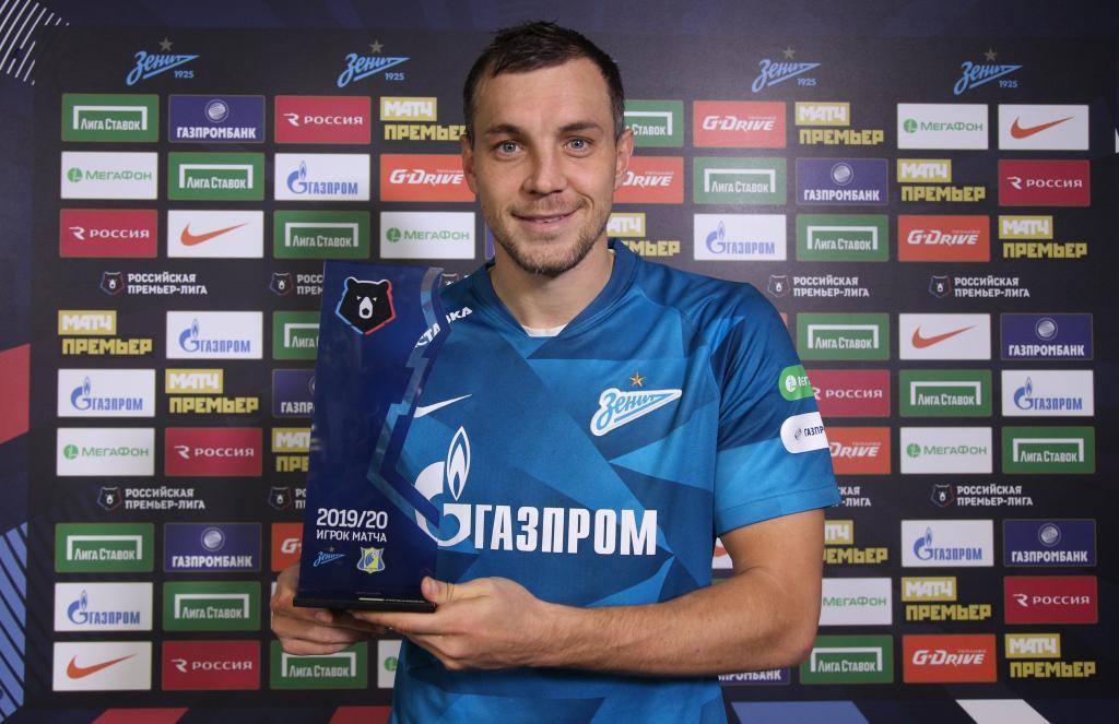 Artem Dzyuba em outubro (nos últimos 5 jogos) por Zenit + seleção da Rússia: 7 gols 6 assistências