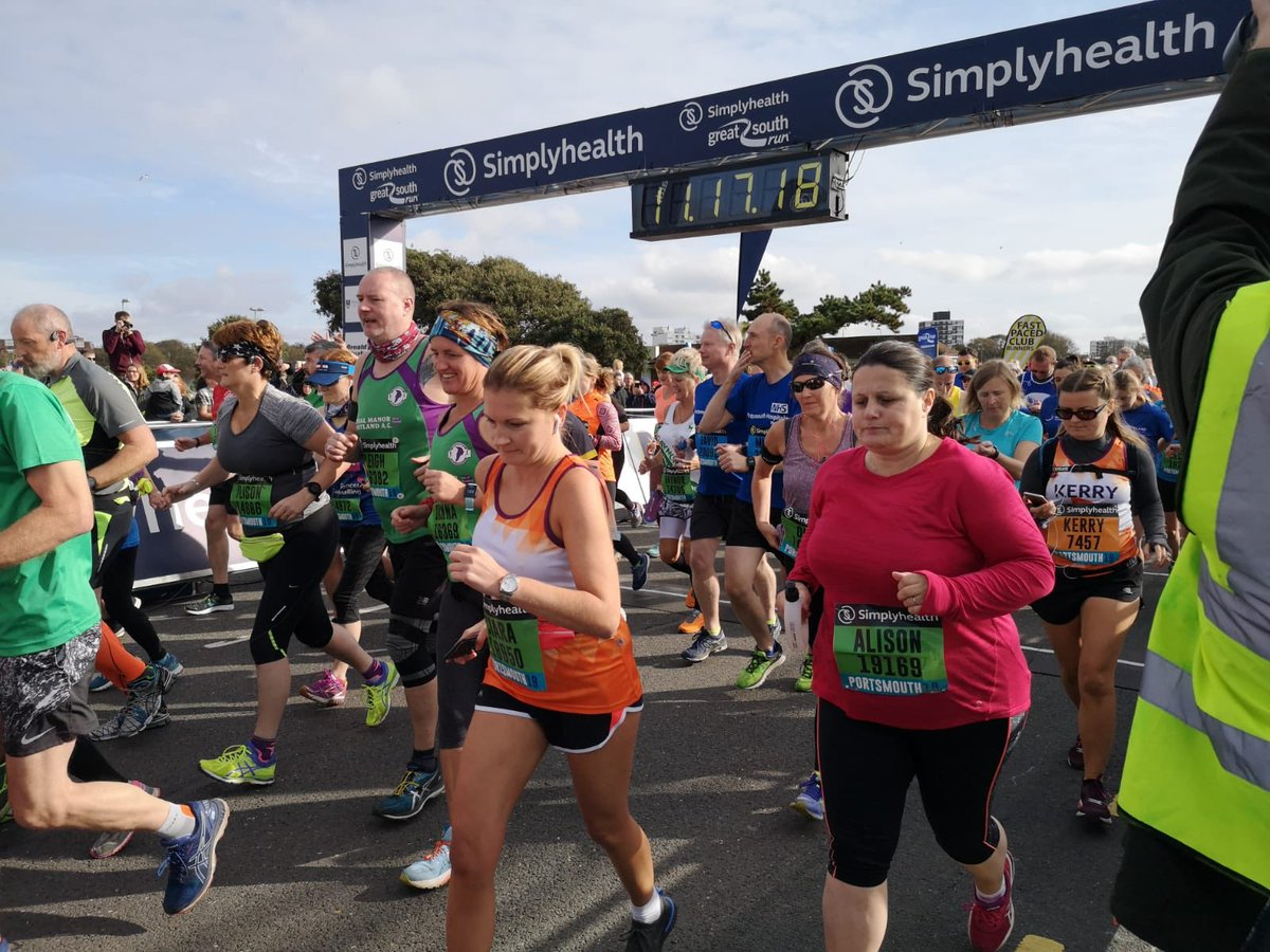 Go go Green Wave! #GreatSouthRun
