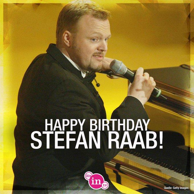 Unser heutiges Geburtstagskind ist Stefan Raab! Happy Birthday! Hoch soll er leben!