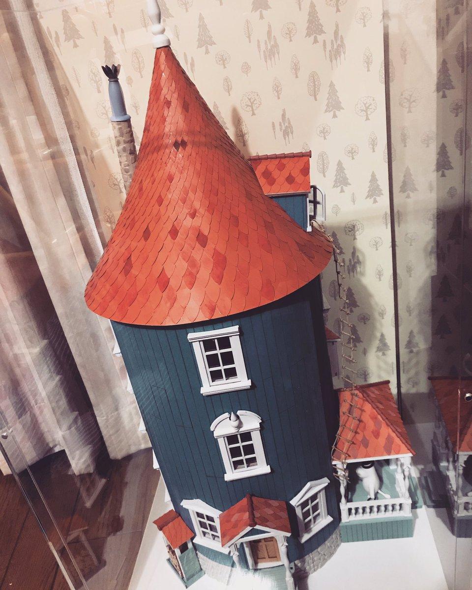 2年以上かかったムーミンハウスがついに完成😭✨🎉やったー!でかー!地下室がお気に入り