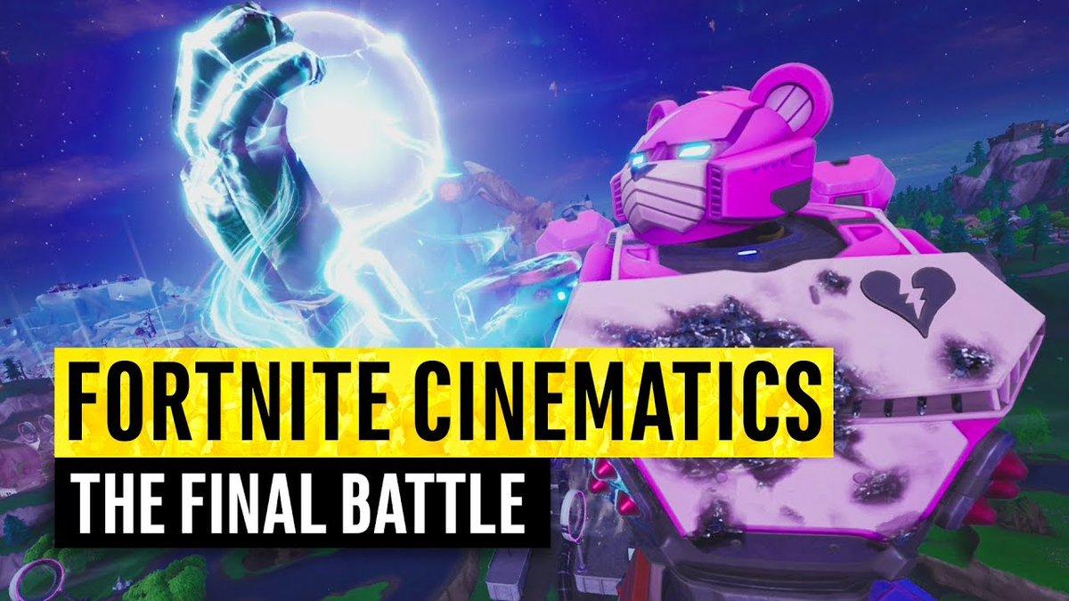 Fortnite Cinematics | The Final Battle (Season 9)  Link: http://tinyurl.com/yxe4d8p5 #adamaru #allmapchangesever #BattleRoyale #codeadamaru #eastereggs #everysinglemapchange #evolution #fight #fortnite #fortnitecinematics #fortniteliveeventseaosn9pic.twitter.com/D0h4XKcYaG