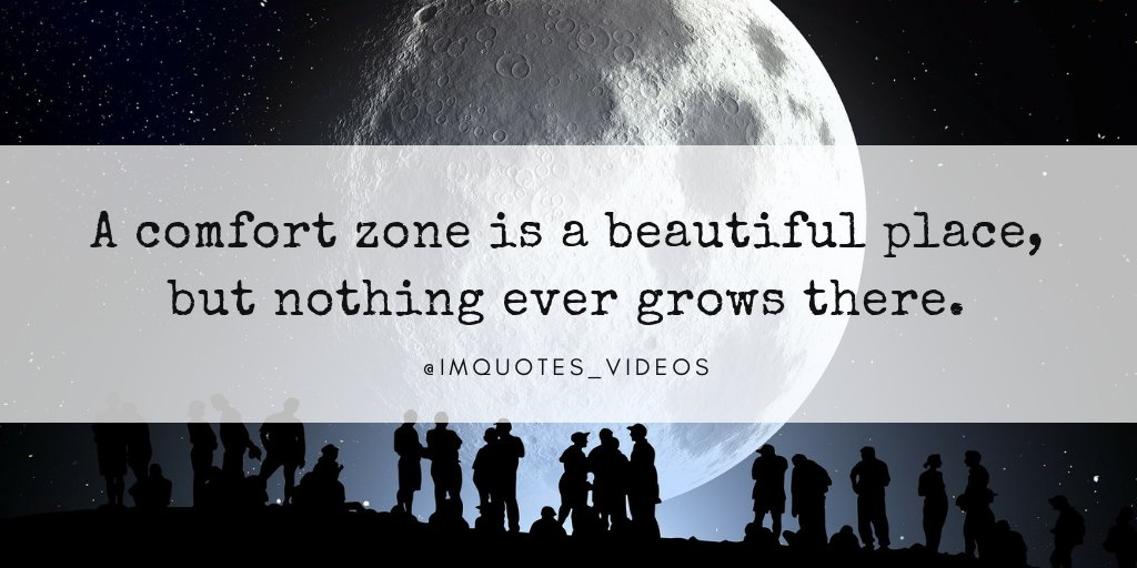 Get out of your comfort zone to grow and improve.  #SundayMotivation <br>http://pic.twitter.com/QSdv5I47h7