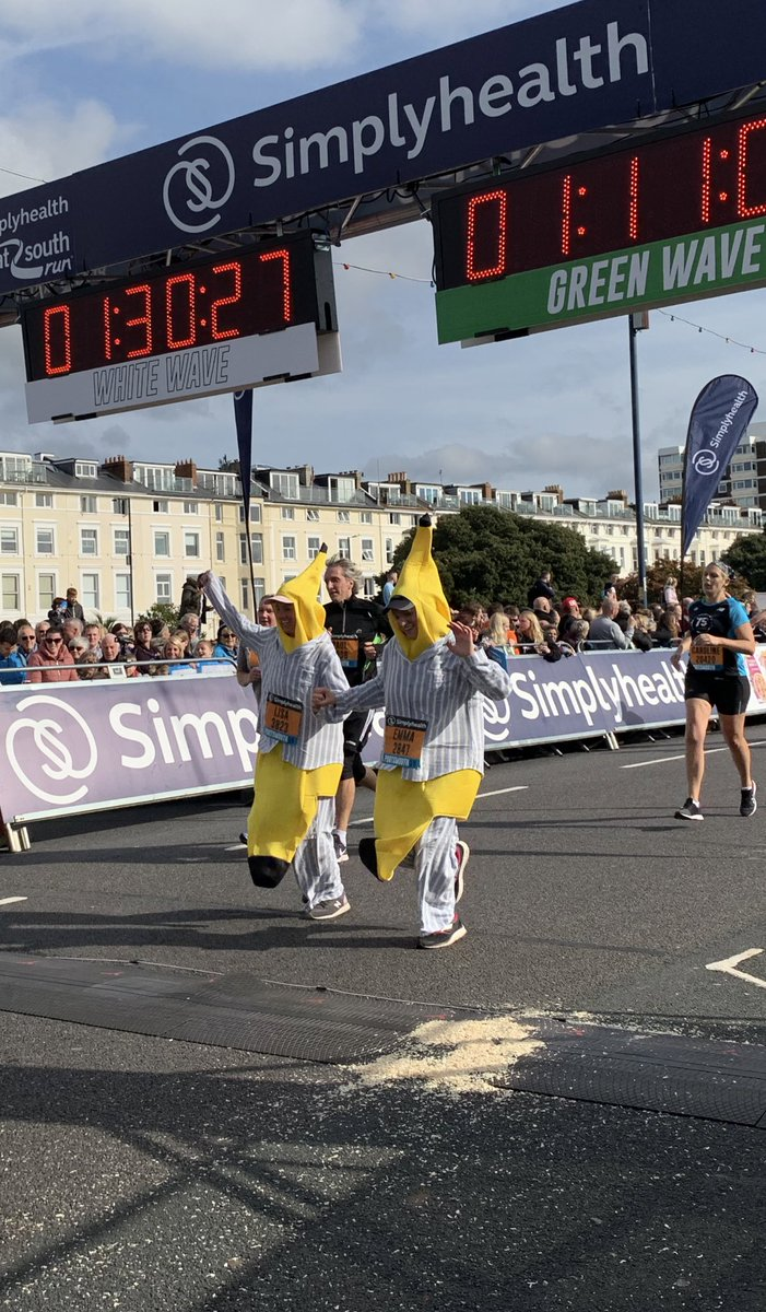 Some of our fave fancy dress from today! #GreatSouthRun