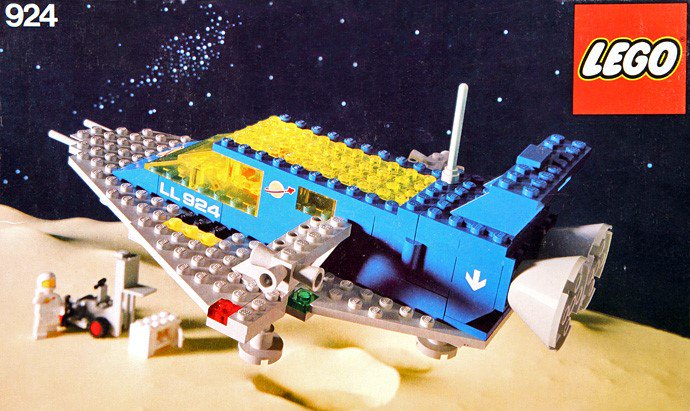 924-1: Space Transporter, 1979 #LEGO