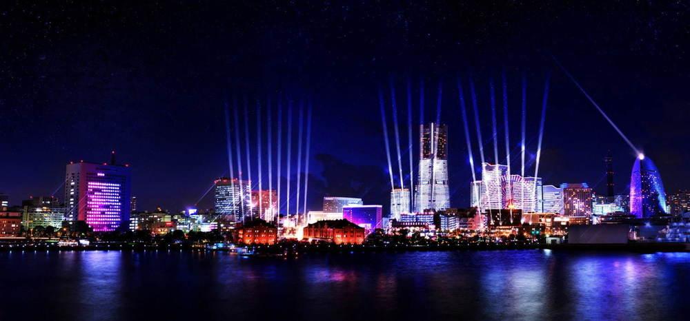 イルミネーションイベント「ナイト シンク ヨコハマ」横浜の街を光&音楽でダイナミックに演出 -