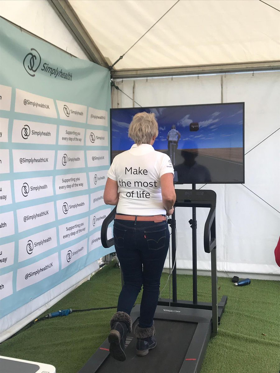Finished your run? Come by our Rate My Gait tent and learn more about your running style! #GreatSouthRun