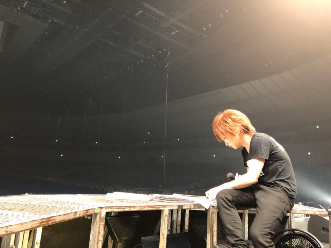 横浜アリーナ2日目でした ー アメブロを更新しました#ゴールデンボンバー鬼龍院翔