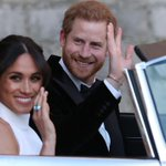 Image for the Tweet beginning: Harry and Meghan, the Duke