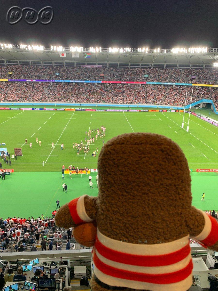 【終わらない #RWC2019 】まだまだ、ゲームは続きます。ラグビーワールドカップ、11月2日まで。世界の戦い、日本で開催。NHKと、日本テレビ系で放送します。ラグビーワールドカップ、11月2日まで。日本で開催です。 #ノーサイド